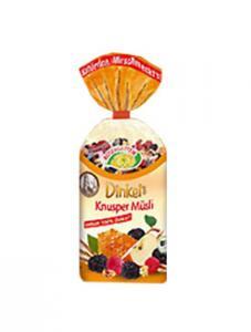 Musli bio cu spelt crocant