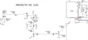 Proiectare gaz