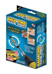 Set biti si adaptor rapid bormasina 20 piese Half Time Drill Driver