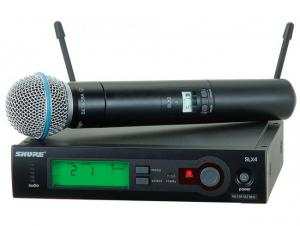 Microfon wireless 58A / SLX 24  Shure Beta