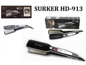 Placa pentru par din ceramica cu display LCD Surker HD-913