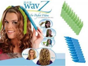 Bigudiuri pentru permanent spiralate Hair WavZ