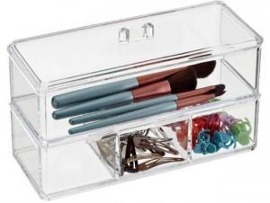 Organizator de cosmetice sau bijuterii din acril transparent