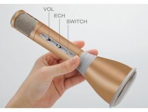 Microfon mini pentru karaoke cu boxe si bluetooth KTV-K068