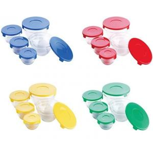 Set 5 caserole din yena cu capac plastic Cooking Bowl