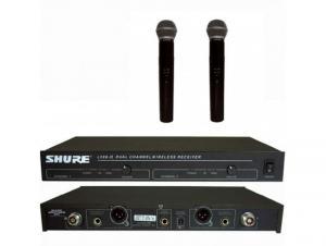 Sistem wireless set microfoane profesionale SHURE LX88-II