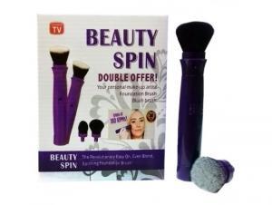 Set pensula de make up electrica rotativa Beauty Spin