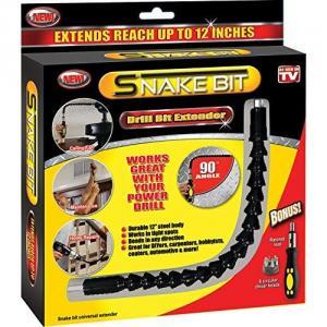 Extensor universal flexibil pentru bormasini cu cap magnetic Snake Bit