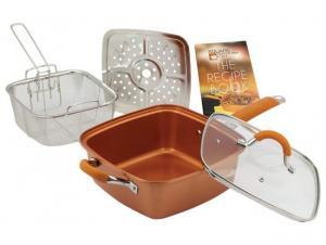 Tigaie multifunctionala Copper Pan square