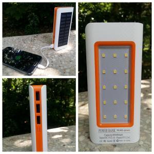Baterie externa solara Power Bank 20000MaH