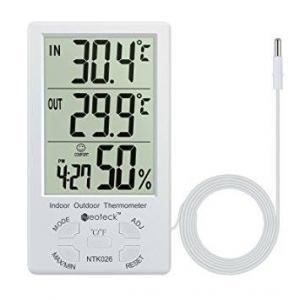 Termometru si Higrometru digital cu LCD 2 in 1