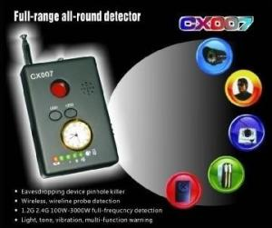 Detector camere video ascunse