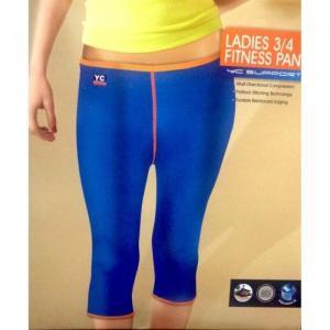Pantaloni fitness 3 pe 4 din neopren YC-6106