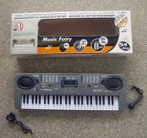 Orga electronica cu 54 clape, microfon si USB/MP3  MQ-808USB