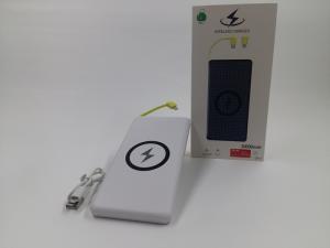 Baterie externa 10.000 mAh cu incarcare wireless