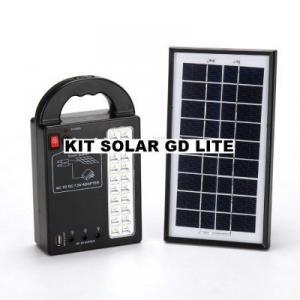 Kit panou solar pentru camping si drumetii GDPLUS GD-8215
