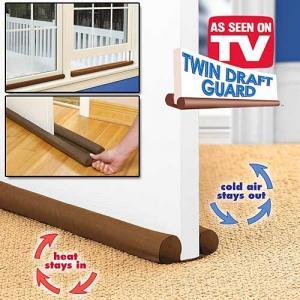 Perna dubla anti-curent de usi si ferestre Twin Draft Guard