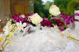 Buchet floral pentru nasa