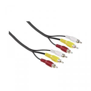 Cablu video audio rca 3m