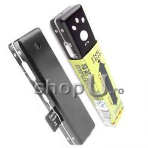 Camera video ascunsa in guma