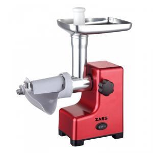 Masina de tocat Zass ZMG 03, 800W, accesoriu rosii