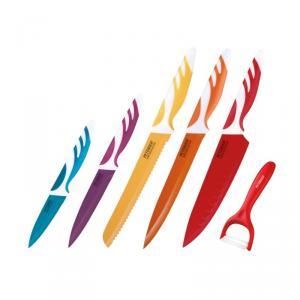 Set cutite 6 piese Peterhof, inox, Multicolor