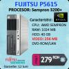 Fujitsu siemens esprimo e5615, amd sempron