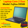 Notebook second hand fujitsu s7210, core 2 duo t7250,