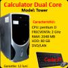 Unitate centrala tower, pentium dual core 3.0ghz, 2gb ddr2, 80gb sata,
