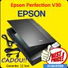 Scanner flatbed epson perfection v30, color, a4, usb 2.0