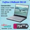 Laptop fujitsu lifebook e8110, intel core 2 duo t5600, 1.83ghz,