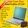 Laptop ieftin fujitsu siemens lifebook s7110, core duo t2400 1.83ghz,