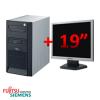Ddr, 40gb hdd, cd-rw + monitor lcd 19 inch
