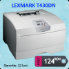 Imprimanta laser monocrom lexmark t430dn, 30 ppm, usb,