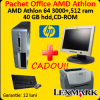 Hp dx5150, 1.8ghz, 512mb, 40gb + monitor hp 15 inci +
