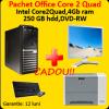 Acer m670g, core 2 quad q9300, 2.5ghz, 4gb, 250gb,