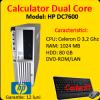 Computer sh hp dc7600 celeron d, 3.2ghz, 1gb ddr2,