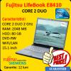Laptop second fujitsu siemens lifebook e8410, intel core 2 duo, 2 ghz,