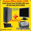 Unitate centrala ibm m57, dual core 1.8ghz + lcd 17