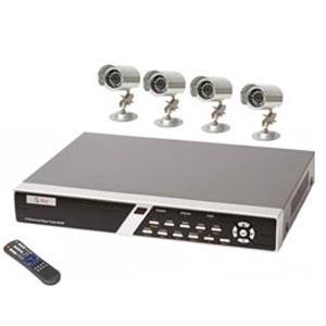 Kit supraveghere video cu 4 camere
