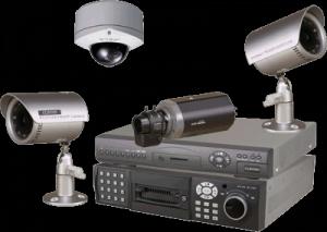 Sistem supraveghere 4 camere inregistrare