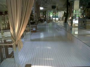 Deck lemn terase