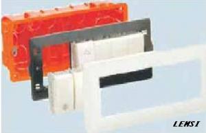 Aparataj modular ingropat - gama STIL