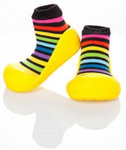 Pantofiori copii Rainbow Yellow XL - ATPAR05-YELLOW-XL