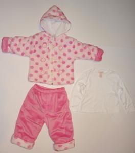 Costumas din 3 piese pentru fetite - 11771