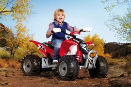 ATV electric copii Polaris Outlaw Red - 9LOR0049