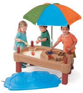 Masuta de joaca cu umbrela