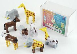 Puzzle magnetic 8 animale - TK0066