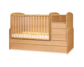 Patuturi bebe transformabile din lemn  Fag- BTN00025
