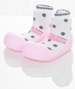 Pantofi fetite Ballet Pink Medium - ATPAB02-Pink-M